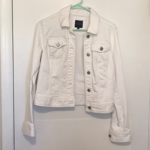 eed0b630ed The Limited Jackets & Coats | White Denim Jean Jacket From | Poshmark